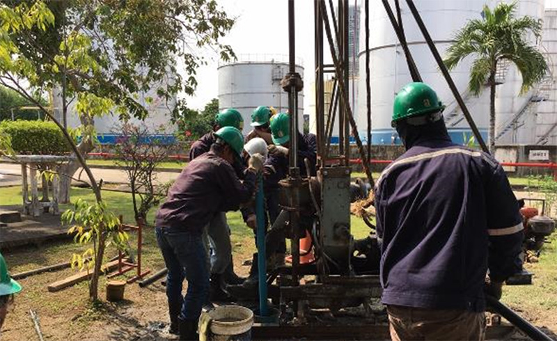 Soil & Groundwater Survey of Chemical Tank Terminal